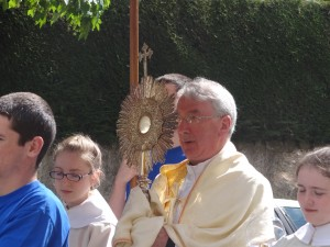 Fr. John Murphy, parish priest at St. Anne's Church in Bailieborough, Ireland